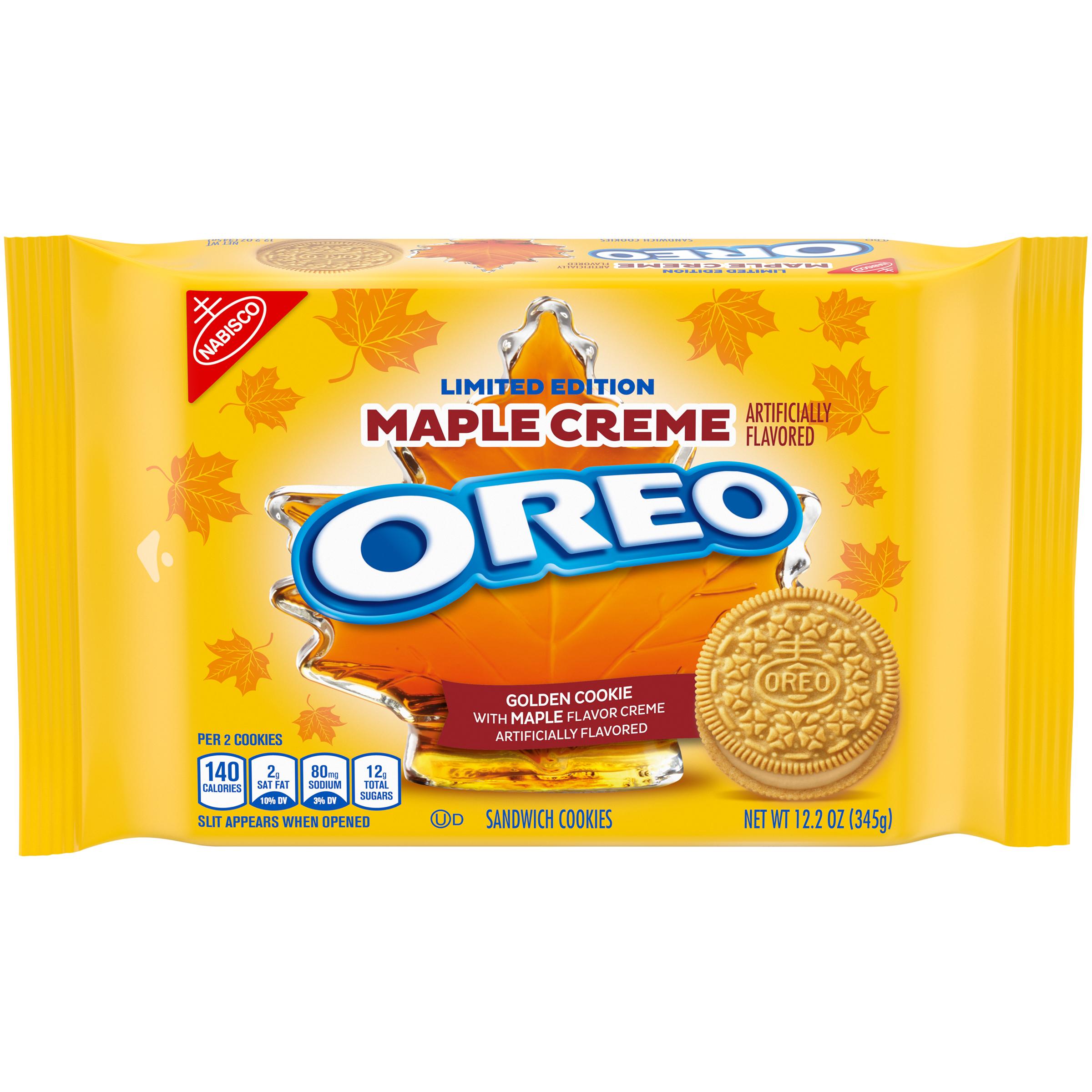 OREO Maple Creme Cookies 12.21 oz