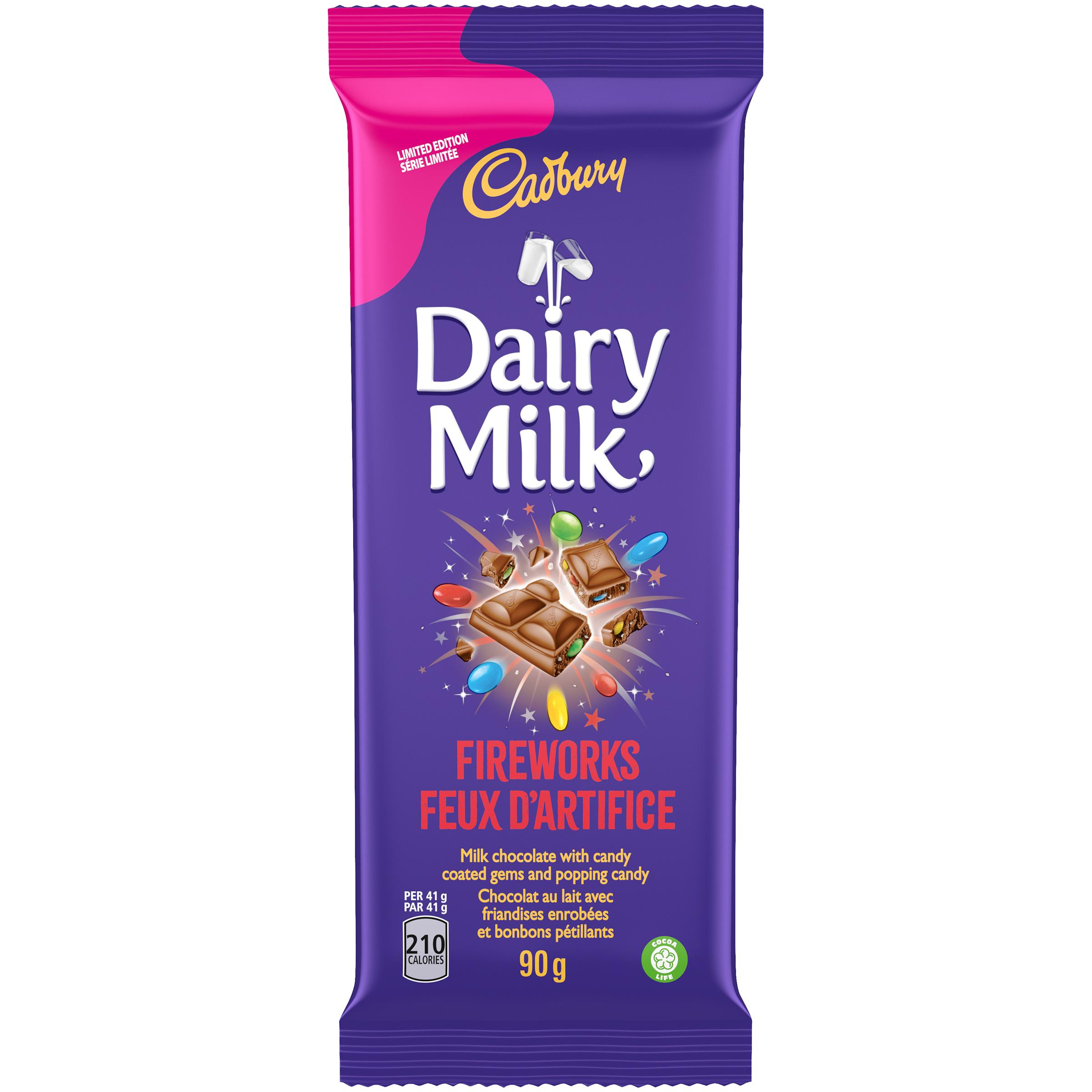 Cadbury Dairy Milk Firework Chocolate Bar 90 G