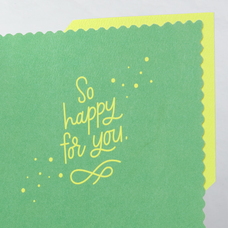 Yay New Baby Congratulations Greeting Card image
