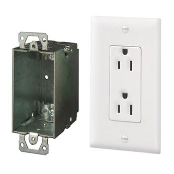 Surge Protected Duplex Power Kit Wave Electronics