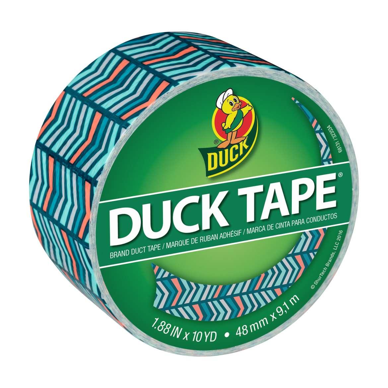Printed Duck Tape® Brand Duct Tape - Herringbone, 1.88 in. x 10 yd. Image