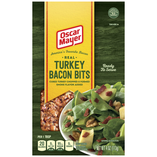Oscar Mayer Turkey Bacon Bits Pouch, 4 oz