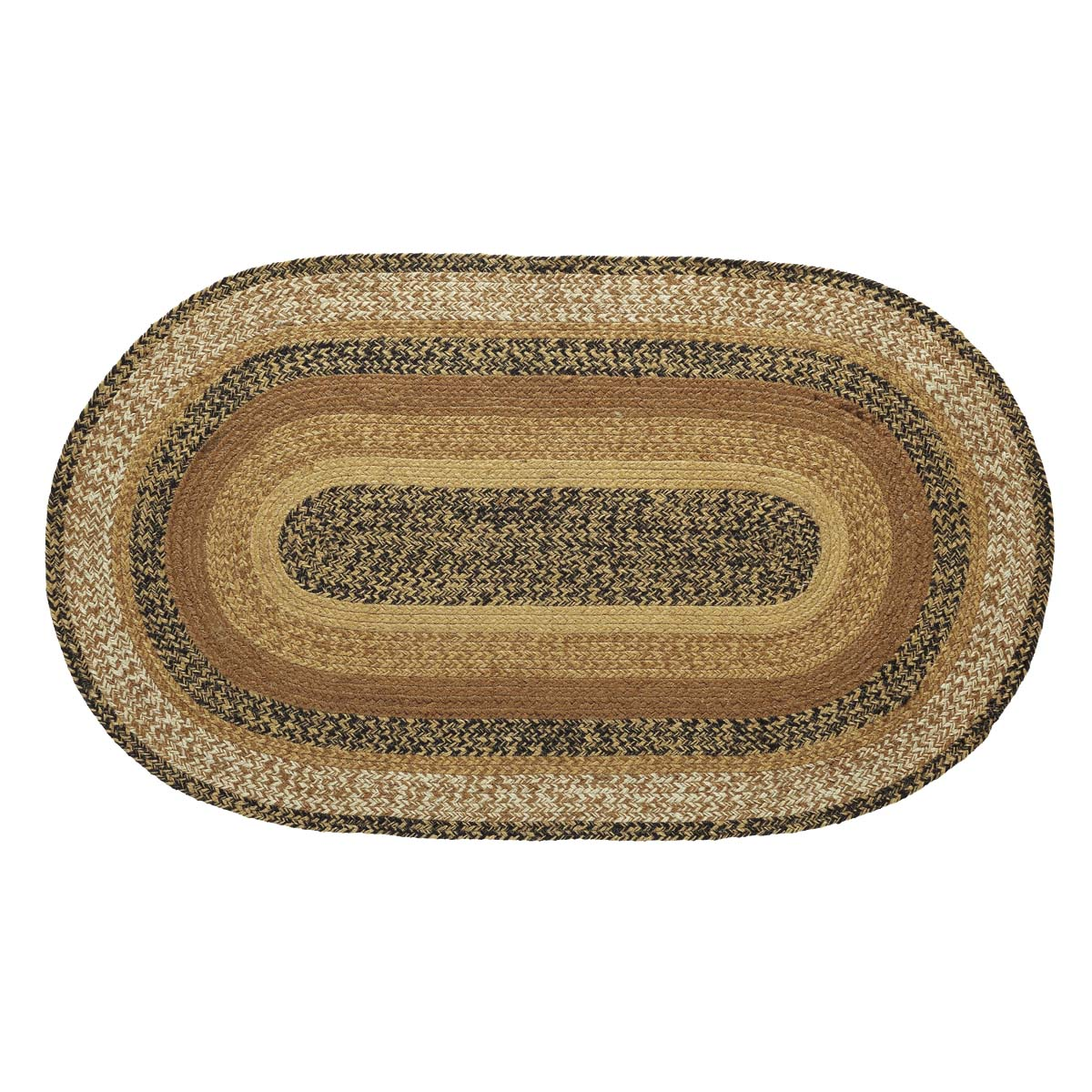 Kettle Grove Jute Rug Oval 24x36