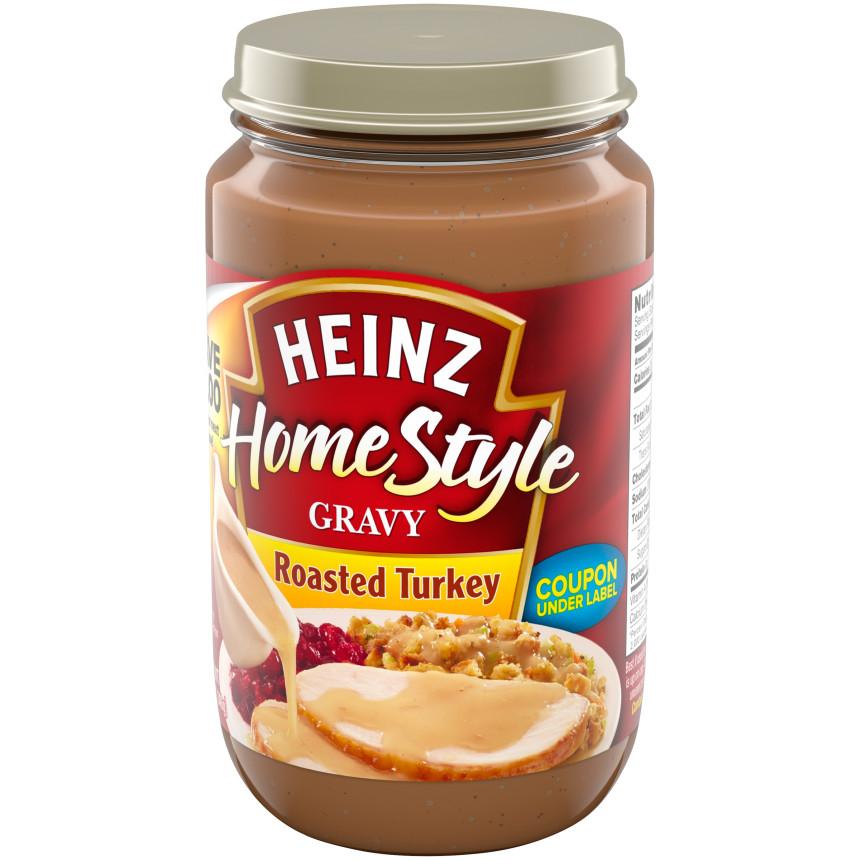 Heinz Home Style Roasted Turkey Gravy 12 oz Jar