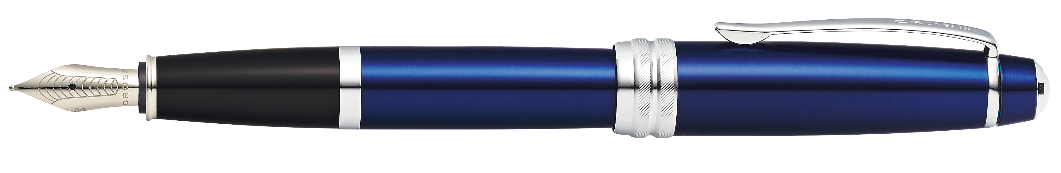 Bailey Blue Lacquer Fountain Pen w/ Medium Nib(self-serve box)