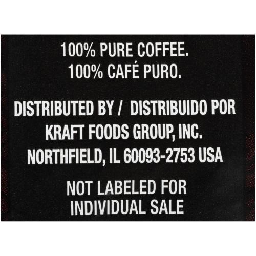 YUBAN Regular Roast & Ground Coffee, 1.1 oz. Pouches (Pack of 42)