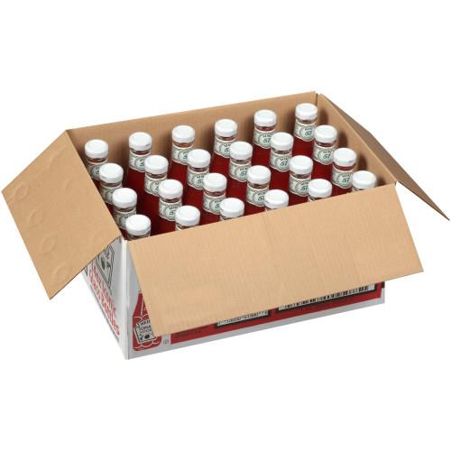 HEINZ Ketchup, 14 oz. Glass Bottles (Pack of 24)