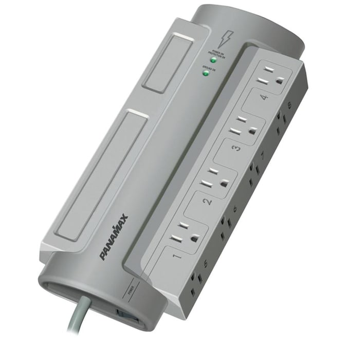 8Outlet Surge Protector Strip Wave Electronics