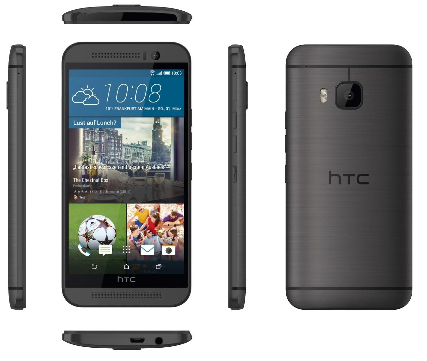 HTC One M9 32GB Verizon + Unlocked GSM 4G LTE Octa-Core 20 MP Camera Smartphone | eBay