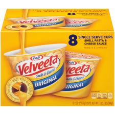 Kraft Velveeta Original Shells & Cheese 8 - 2.39 oz Boxes