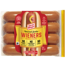 Oscar Mayer Uncured Jumbo Wieners, 8 count