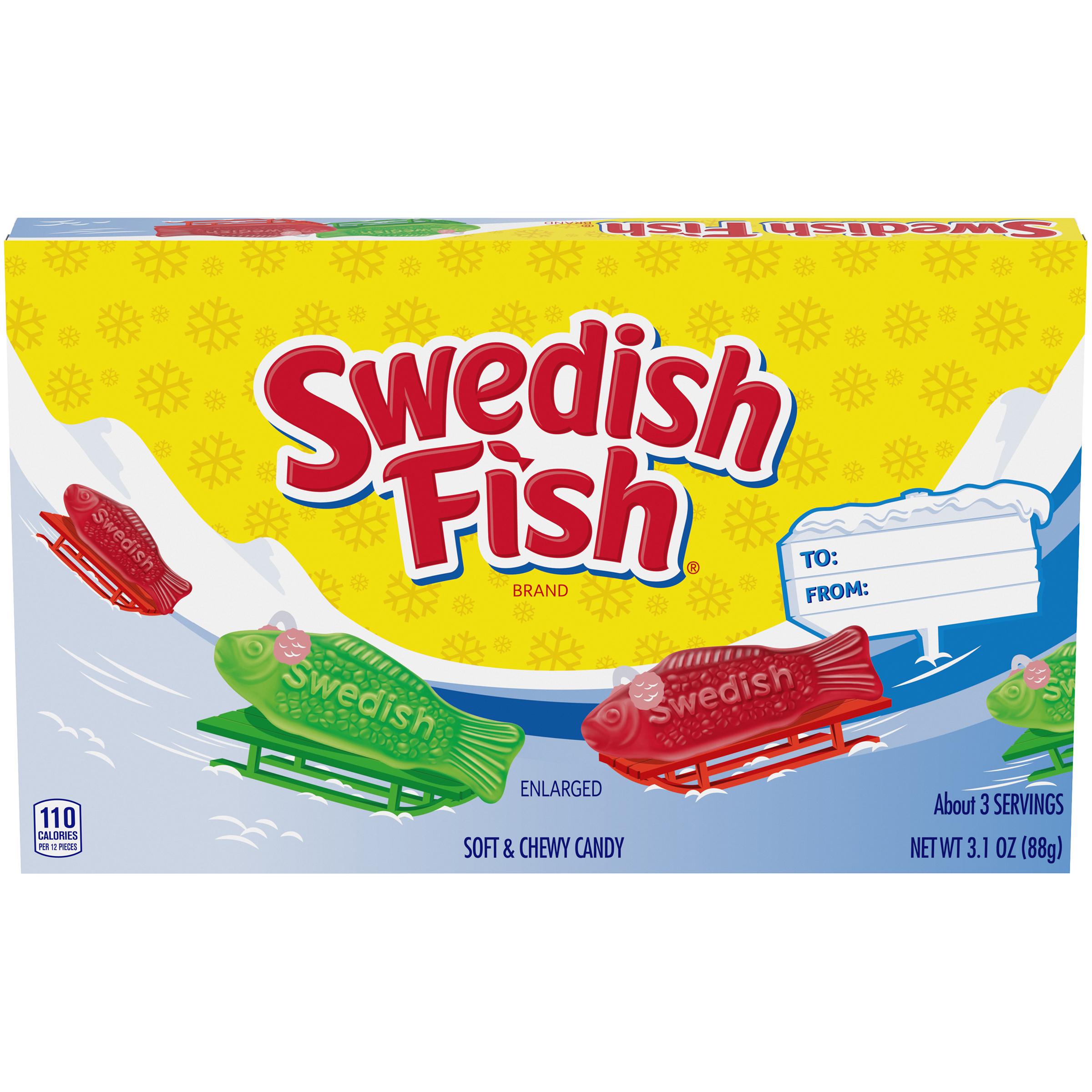 SWEDISH FISH Aqualife Soft Candy 3.11 oz