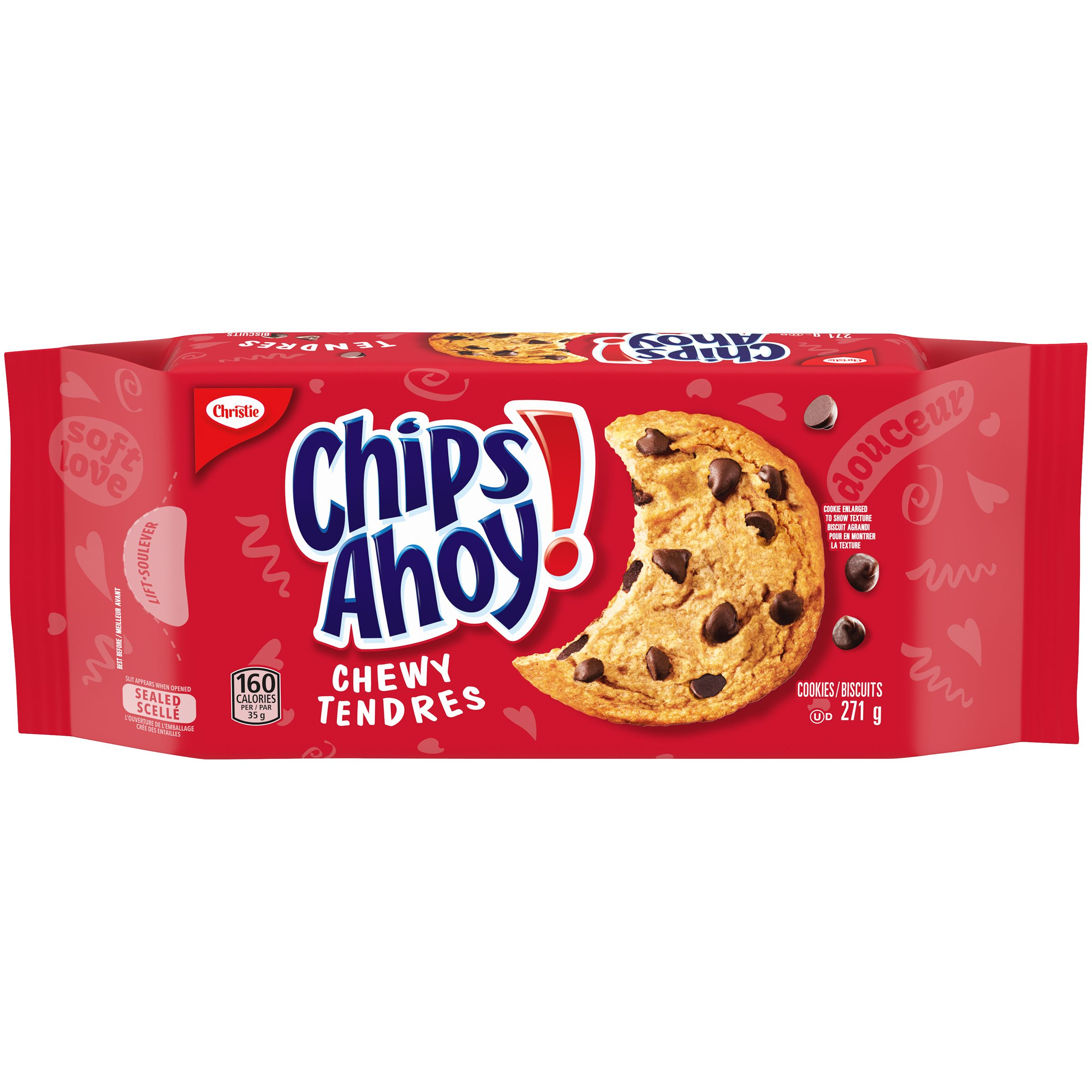 Chips Ahoy! Tendres Biscuits 271 G