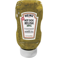 Heinz Hot Dog Relish, 12.7 fl oz Bottle image