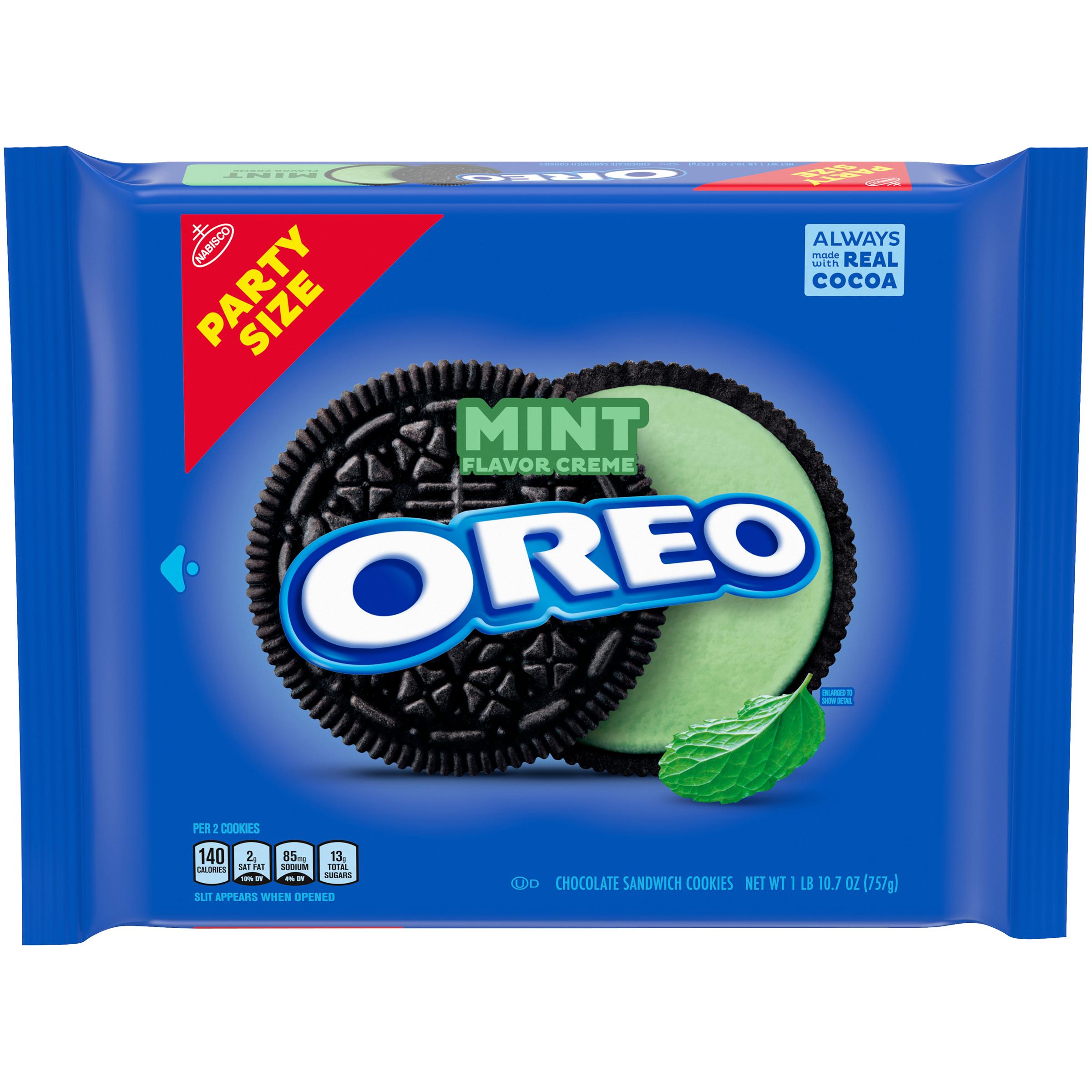 OREO Mint Sandwich Cookies 26.7 Oz