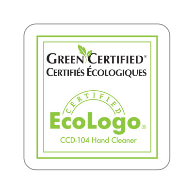 Dispenser Label - EcoLogo® Green Certified