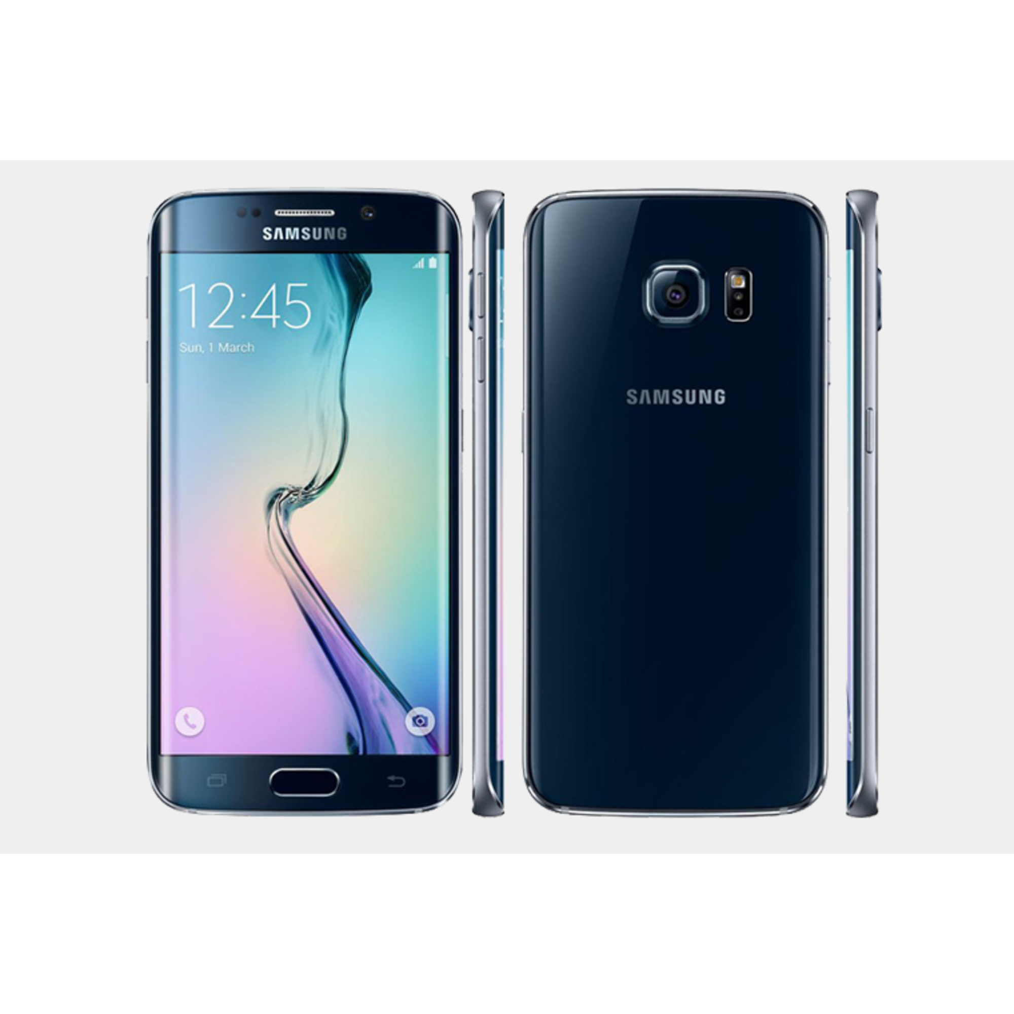 samsung galaxy s6 edge 32gb unlocked gsm lte 16mp phone certified refurbished ebay. Black Bedroom Furniture Sets. Home Design Ideas