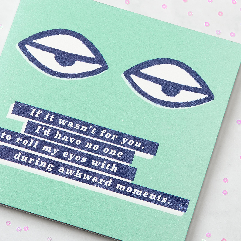 Awkward Moments Greeting Card - Birthday, Thinking of You, Friendship image