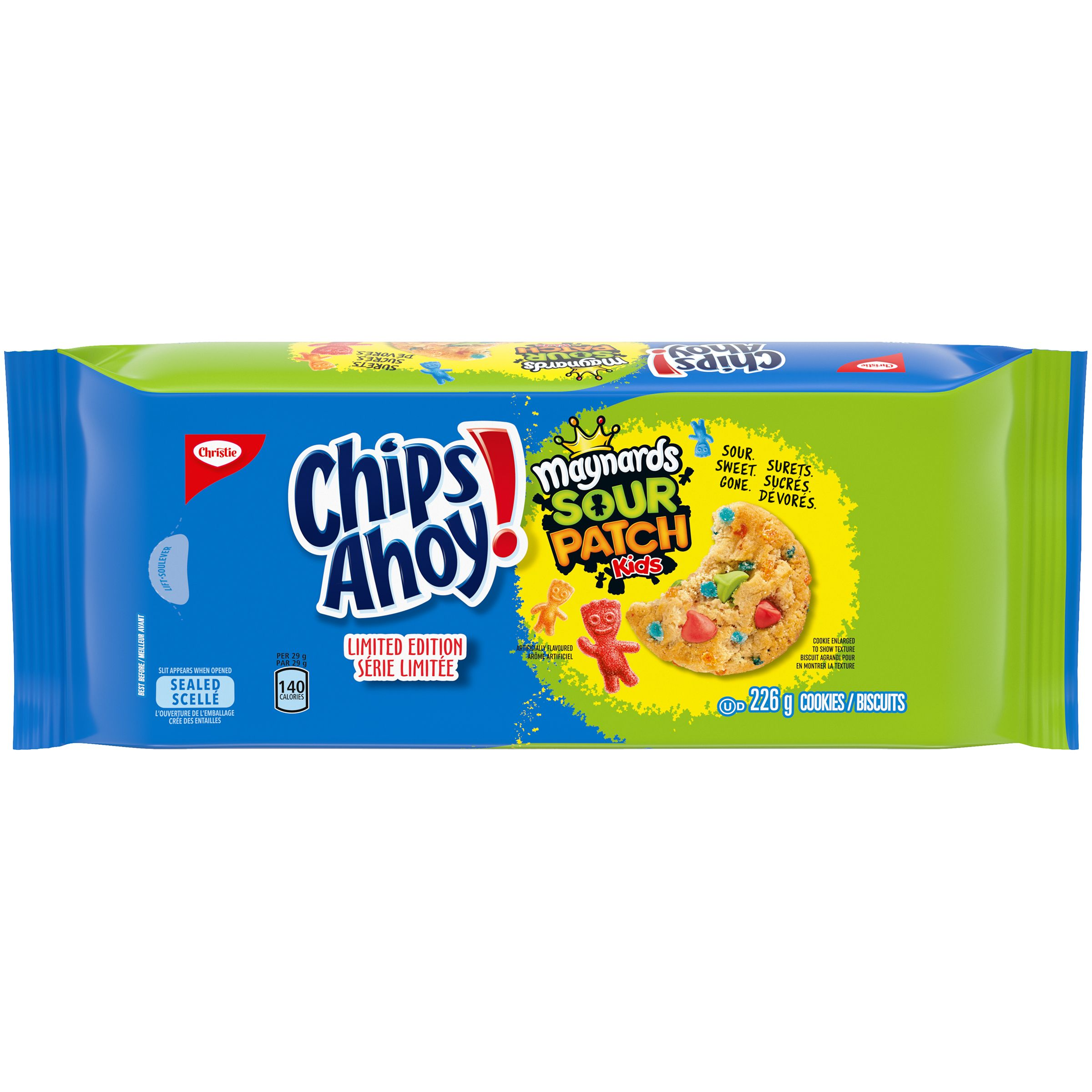 CHIPS AHOY!  SOUR PATCH KIDS 226 GR