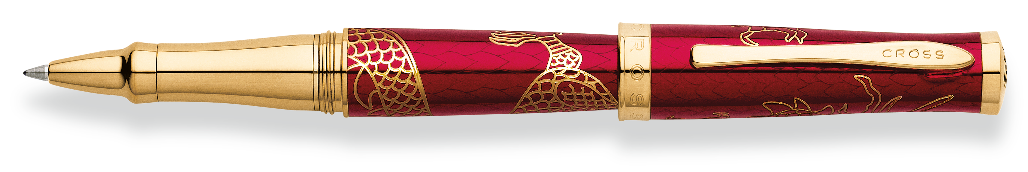 Cross 2012 Year of the Dragon Special-Edition Sauvage Rollerball Pen