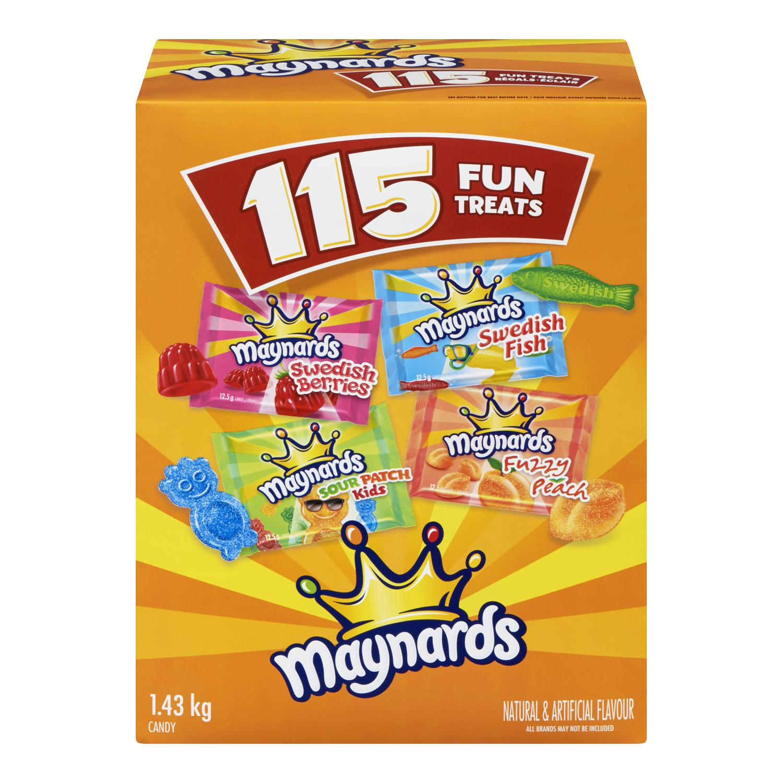 Maynards Crossbrands Fun Treats Soft Candy 1437.55G