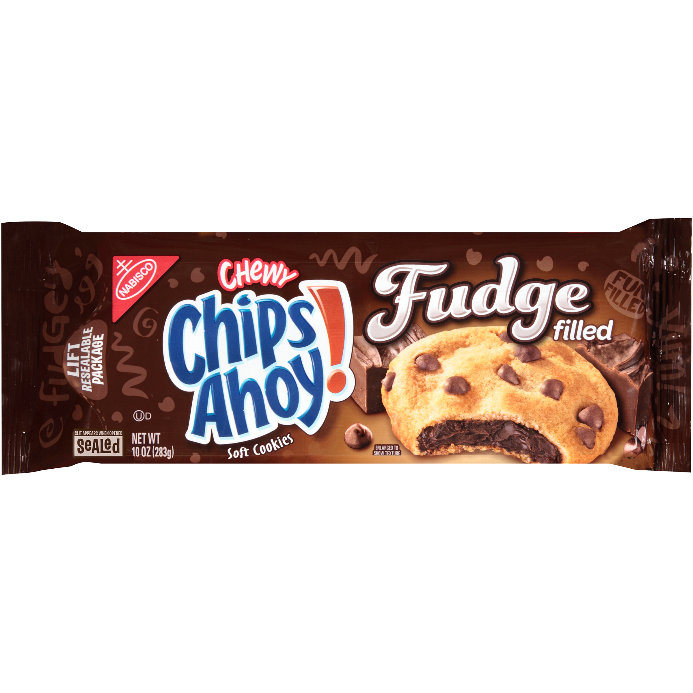 CHIPS AHOY! Chewy Chewy Gooey Chocfudge Cookies 10 oz