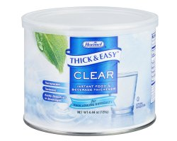 Thick & Easy Food and Beverage Thickener 4.4 oz. Canister Unflavored Powder Consistency Varies By Preparation, 25544 - Case of 4