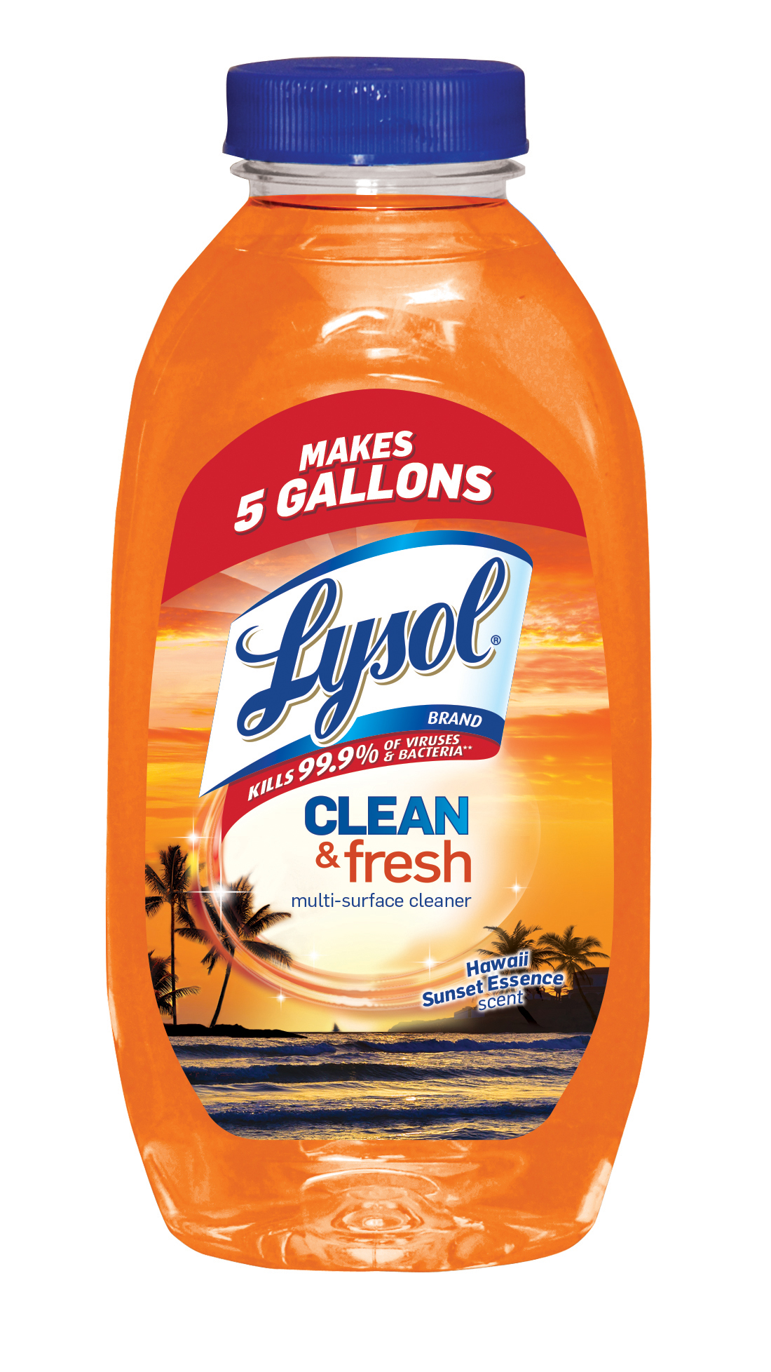 Lysol Clean & Fresh Multi-Surface Cleaner, Hawaii Sunset, 10.75oz