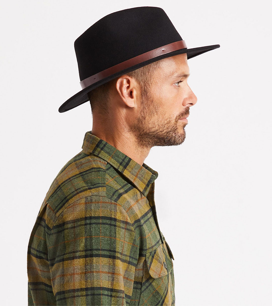 Men's Medium-Brim Fedoras