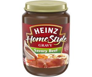Heinz Home-Style Savory Beef Gravy 12 oz Jar