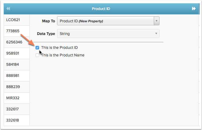 Setting the Product ID and Product Name