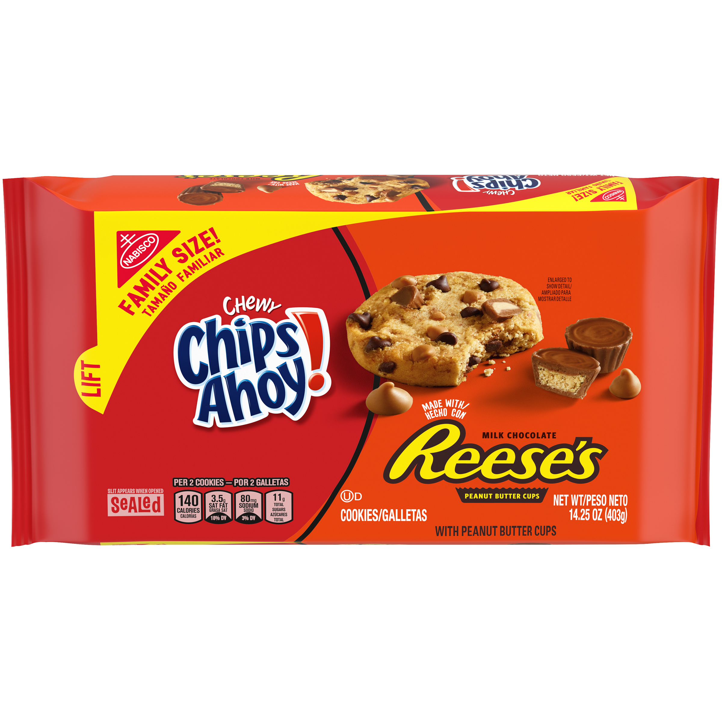CHIPS AHOY! Chewy Chewy Cookies 14.25 oz