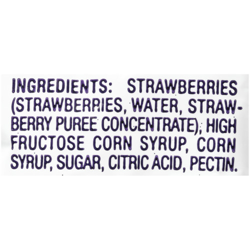 WELCH'S Single Serve Strawberry Jam, 0.5 oz. Packets (Pack of 500)
