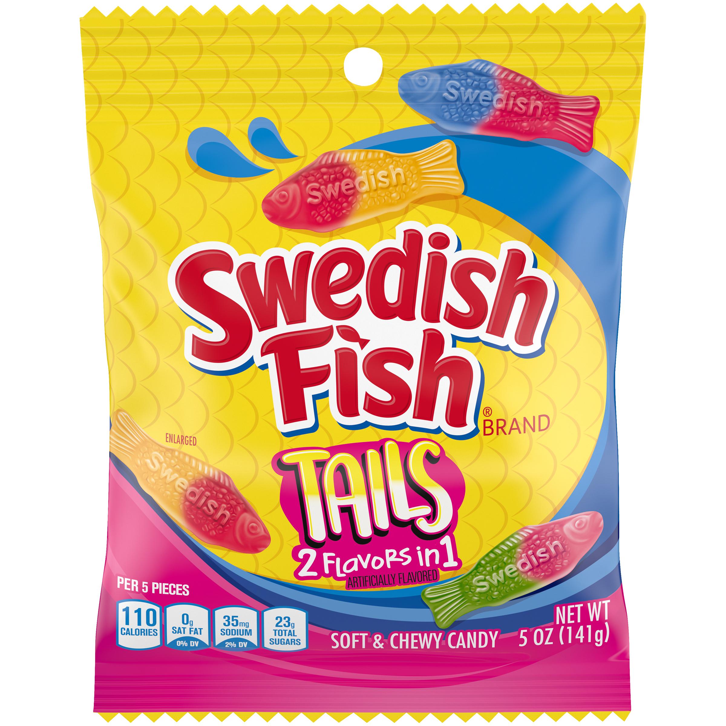 SWEDISH FISH Tails Tails Soft Candy 5 oz