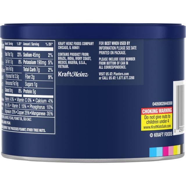 PLANTERS Select. Cashews, Almonds & Pecans 8.25 oz Can