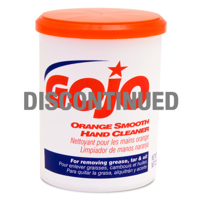 GOJO® Orange Smooth Hand Cleaner - DISCONTINUED