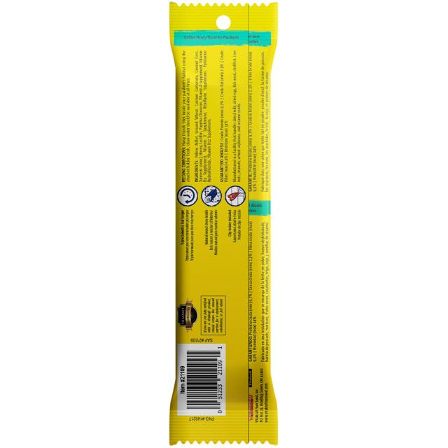 Back-Image showing Crunch Sticks Golden Honey Flavor