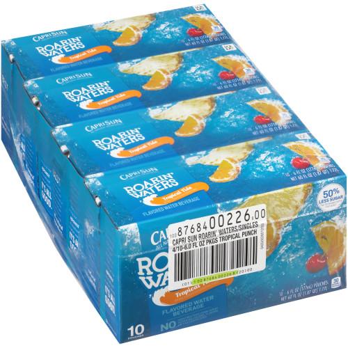 CAPRI SUN Tropical Fruit Pouch, 6 oz. Pouches (Pack of 40)