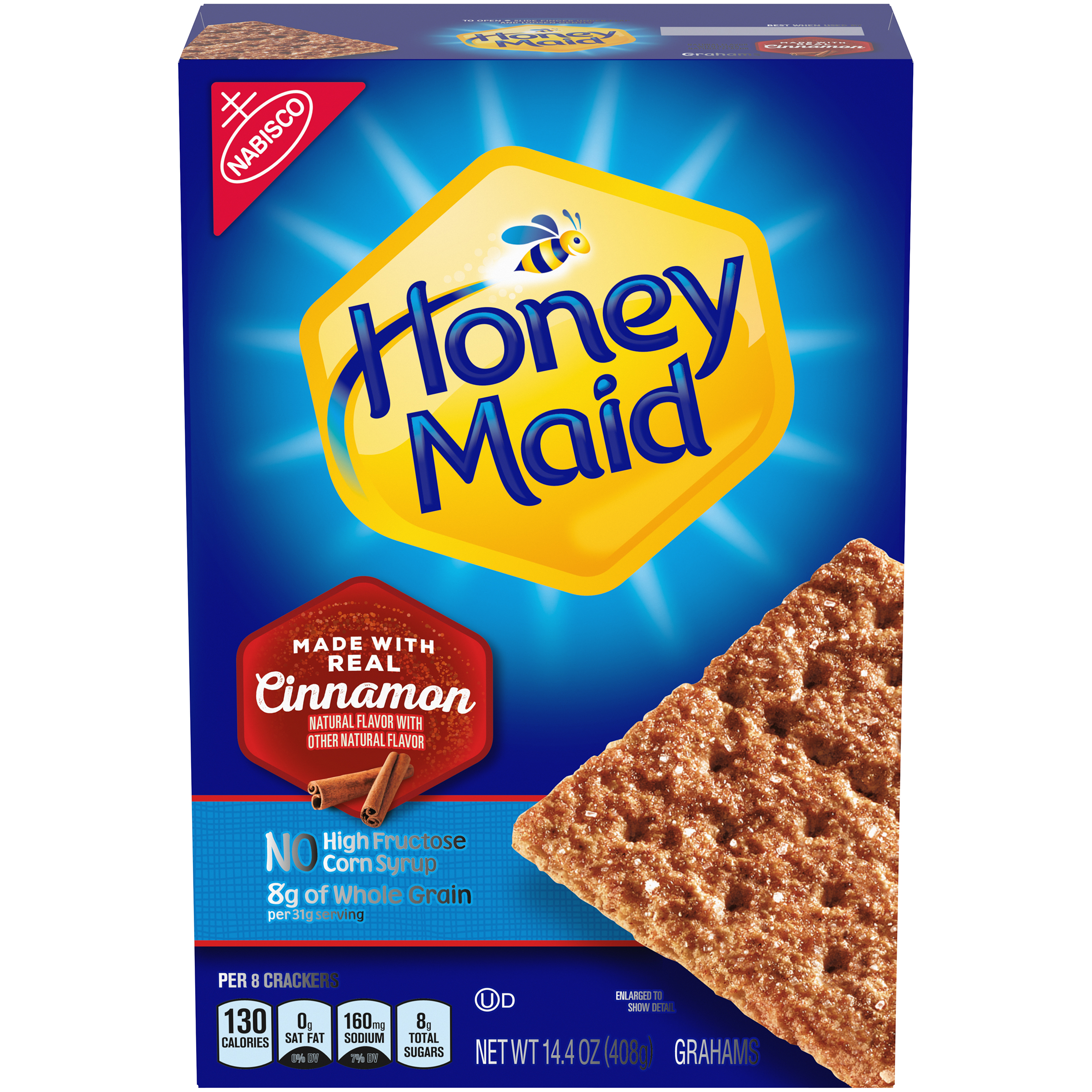 HONEY MAID Cinnamon Graham Crackers 14.4 oz