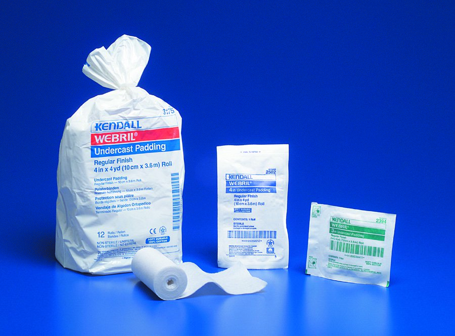 Webril Cast Padding Undercast 3 Inch X 4 Yard Cotton NonSterile, 2059- - Pack of 12
