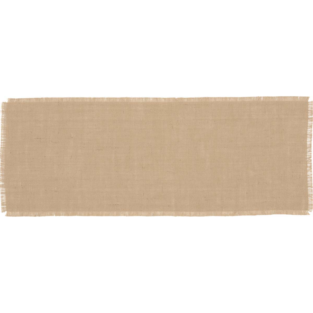 Jute Burlap Natural Runner 13x36