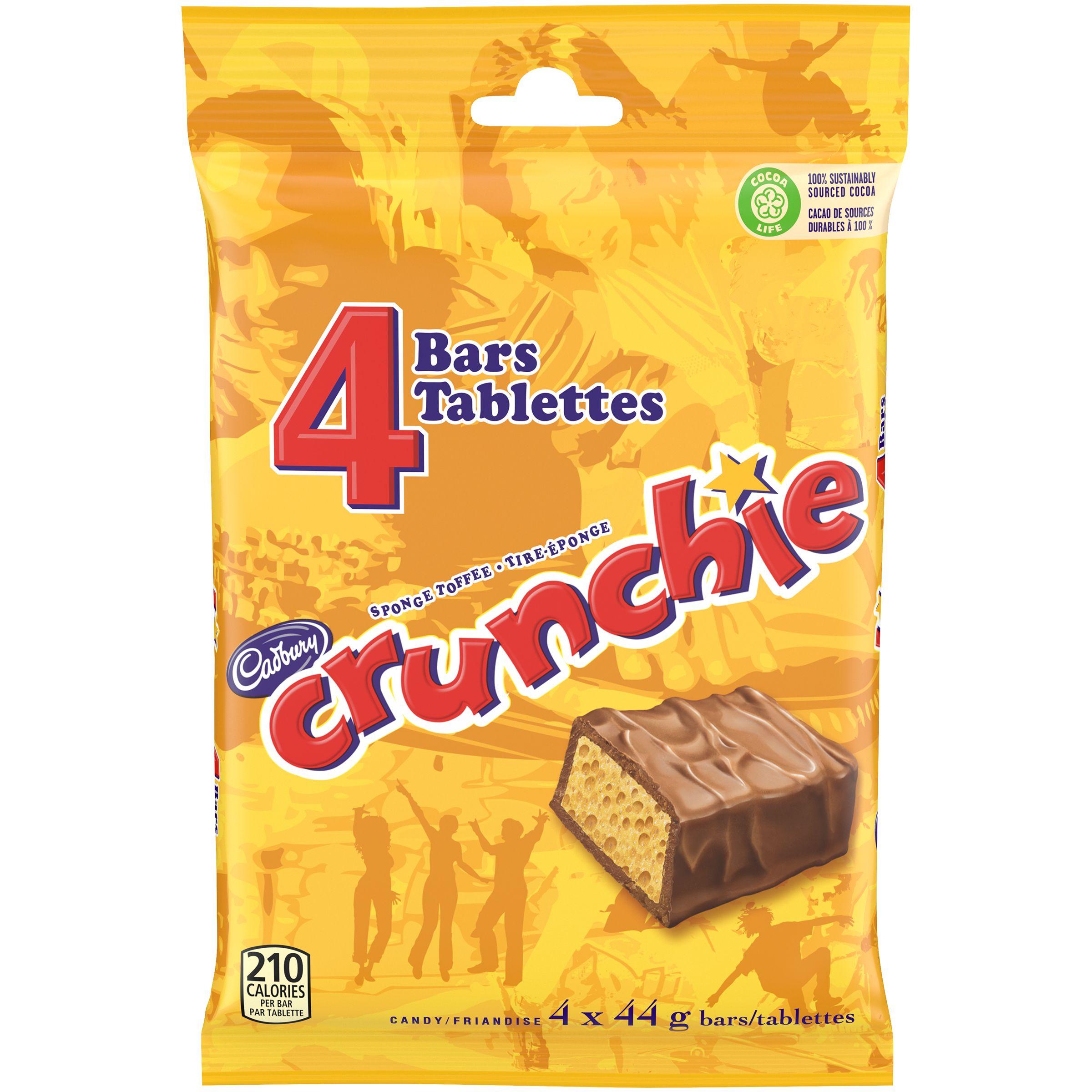 Crunchie Four Pack Chocolate Bar G