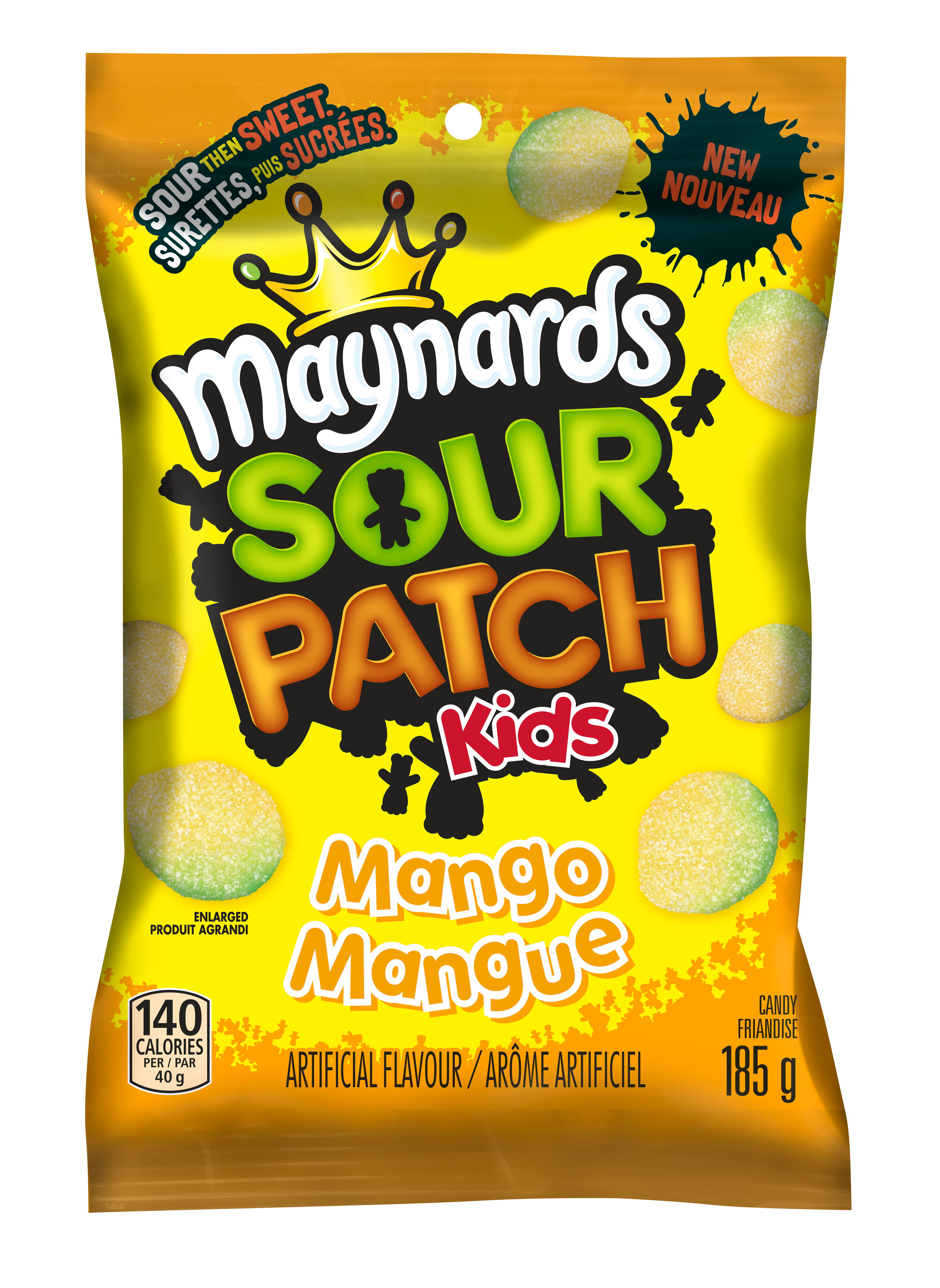 Maynards Sour Patch Kids Mangue Friandise Molle 185 G
