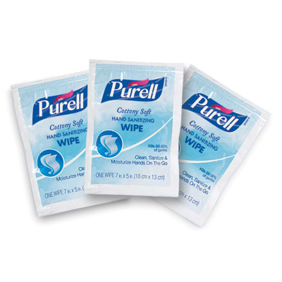 PURELL® Cottony Soft Hand Sanitizing Wipes