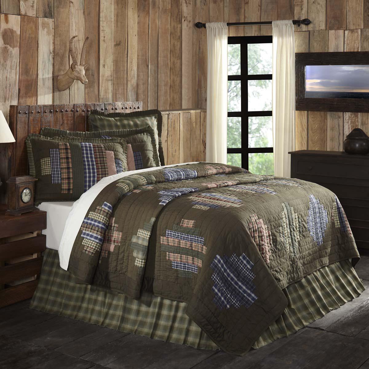 Seneca King Quilt 105Wx95L