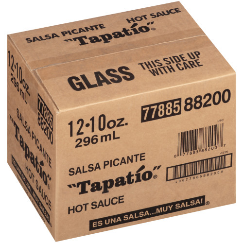 TAPATIO Hot Sauce, 10 oz. Bottles (Pack of 12)
