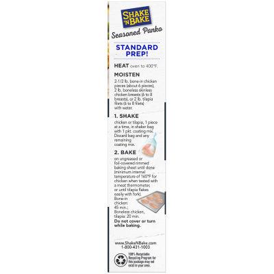 Kraft Shake 'n Bake Seasoned Panko Seasoned Coating Mix 3.8 oz Box