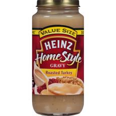 Heinz Home-Style Roasted Turkey Gravy, 18 oz Jar image