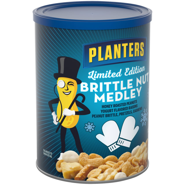 PLANTERS Brittle Nut Medley 19.25 oz Can