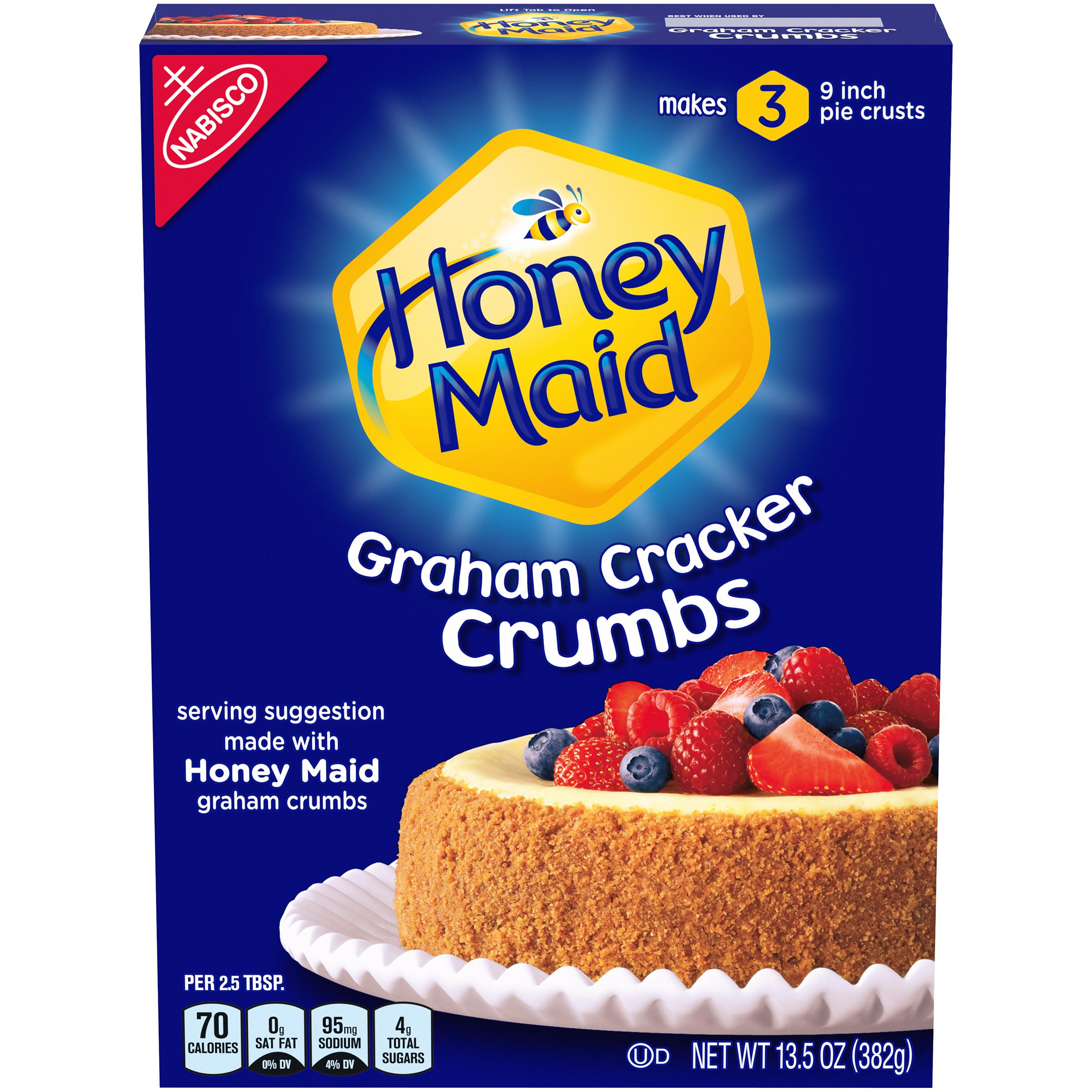 HONEY MAID Supermix Graham Cracker Crumbs 13.5 oz